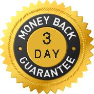 3 day guarante